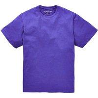 Capsule Purple Crew Neck T-shirt L
