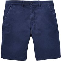 Capsule Navy Stretch Chino Shorts