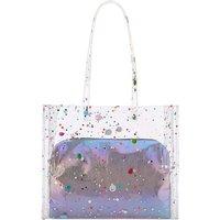 Simply Be Multi Sequin Transparent Beach Bag KM82301