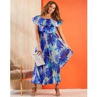 Joanna Hope Pleat Gypsy Dress