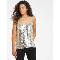 Joanna Hope Sequin Disc Cami.