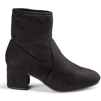 Flexi Sole Stretch Ankle Boots E Fit