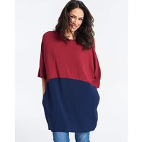 Colourblock ITY Tunic