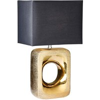 Etched Bronze Table Lamp