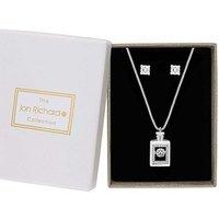 Jon Richard Perfume Bottle Jewellery Set