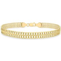 9Ct Gold Double Curb Chain.