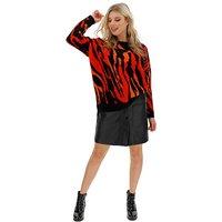 PU Stud Fastening Mini Skirt