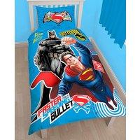 Batman Vs Superman Clash Panel Duvet at JD Williams Catalogue