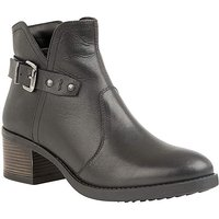 Lotus Tapti Zip-Up Ankle Boots