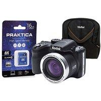 Kodak AZ422 Black Bridge Camera Kit