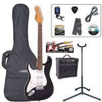 Encore Left Hand Electric Guitar Outfit
