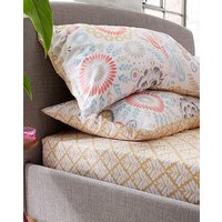 Paige Printed Extra Deep Fitted Sheet