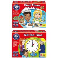My First Times Tables & Tell the Time.