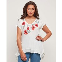Joe Browns Poppy Print Tunic