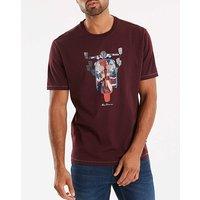 Ben Sherman Scooter Flag T-shirt L