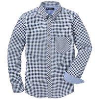 Ben Sherman Brush Gingham Shirt L
