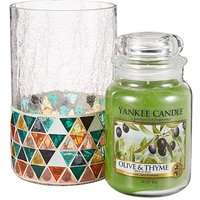 Yankee Candle Olive & Thyme Set