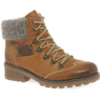 Rieker Wool Ladies Lace Up Ankle Boots