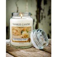 Yankee Candle Wedding Day Jar Candle.