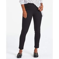 Elasticated Pull-on Slim Leg Jeggings