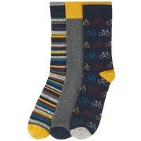 3 Multi Pack Ankle Socks.
