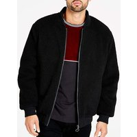 Jacamo Black Reversible Bomber Long