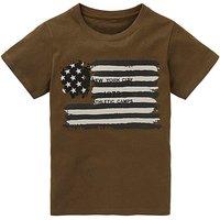 Boys USA Flag T-Shirt