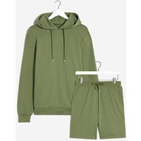Lounge Short and Hoodie Set.