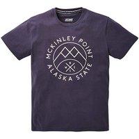 Jacamo Alaska Graphic T-Shirt Long