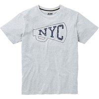 Jacamo NYC Graphic T-Shirt Regular