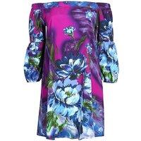 Lovedrobe GB floral Bardot tunic
