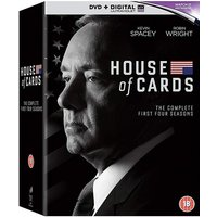 House Of Cards Season 1 to 4