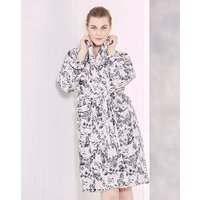 Lilac Print Fleece Gown 42in