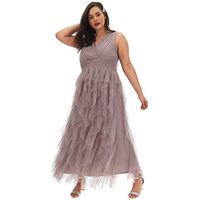 Little Mistress Sleeveless Ruffle Dress