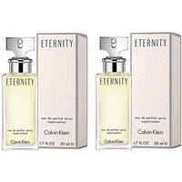 CK Eternity Ladies 50ml Twin Pack.