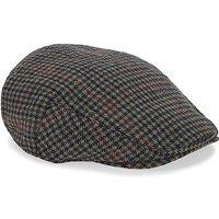 Tweed Check Flat Cap