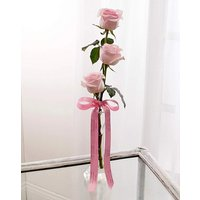 Image of Personalised Memento Pink Roses