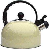 2.2ltr Whistling Kettle Cream