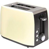 2 Slice Low Wattage Cream Toaster