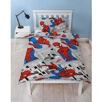 Spiderman Flight Reversible Duvet Set.