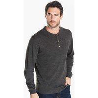 Capsule Charcoal L/S Knitted Polo