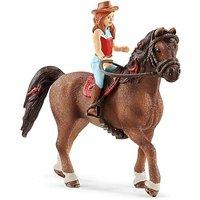 Schleich Horse Club Hannah & Cayenne Toy.
