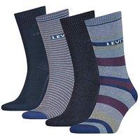 Levi's 4 Pack Gift Box Socks.