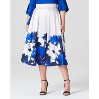 Coast Printed Positiano Skirt