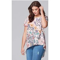 Alice & You by Glamorous Split Back Top