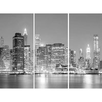 Arthouse New York At Night Triptych