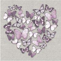 Arthouse Butterfly Heart Canvas