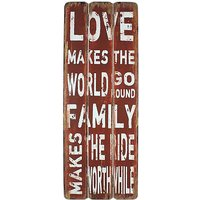 Love and Family Wall Plaque