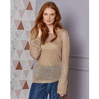 Metallic Yarn Jumper