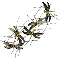 Home Living Metal Wall Art Dragon Flies